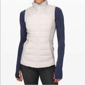 Lululemon Down For It All Light Ivory 10